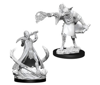 D&D Unpainted Minis Wv11 Arcanaloth And Ultraloth