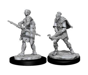 D&D Unpainted Minis Wv11 Female Human Ranger