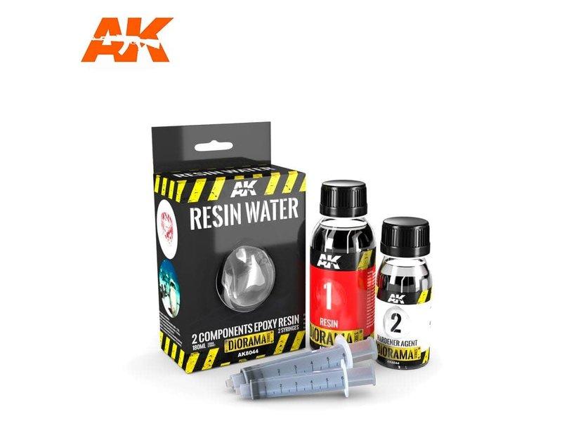 AK Interactive AK Interactive Resin Water 2-Components Epoxy Resin - 180ml