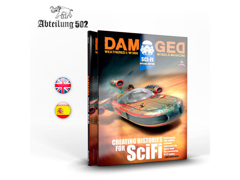Abteilung 502 Abteilung 502 Damaged Book Special Scifi (English)