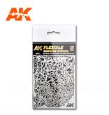 AK Interactive AK Interactive Flexible Airbrush Stencil 1/20 1/24 1/35