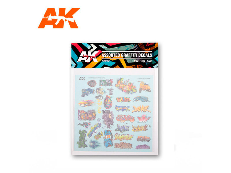 AK Interactive AK Interactive Assorted Graffiti Decals