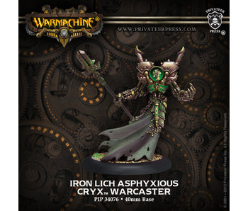 Cryx Iron Lich Asphyxious Warcaster - PIP 34076