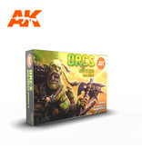 AK Interactive AK Interactive Orcs And Green Creatures