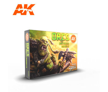 AK Interactive Orcs And Green Creatures