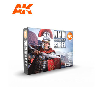 AK Interactive Non Metallic Metal - Steel