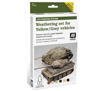 Vallejo - Weathering Yellow And Grey Vehicles