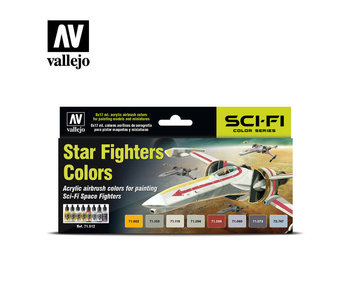 Vallejo - Model Air Sci-Fi Star Fighters Colors