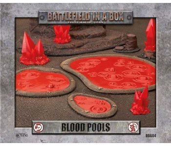 Battlefield In A Box - Blood Pools *3