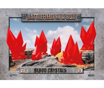 Battlefield In A Box - Blood Crystals *6