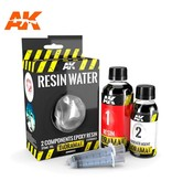 AK Interactive AK Interactive Resin Water 2-Components Epoxy Resin - 375ml
