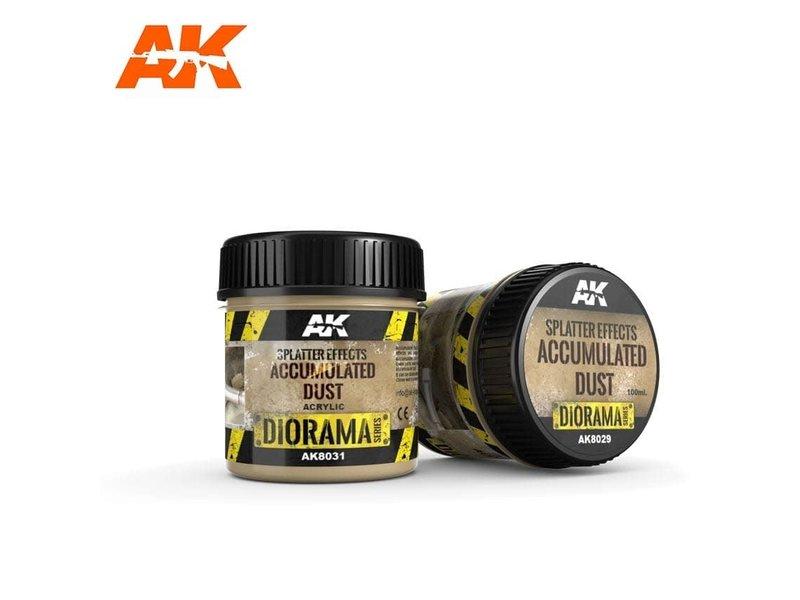 AK Interactive AK Interactive Splatter Effects Accumulated Dust - 100ml (Acrylic)