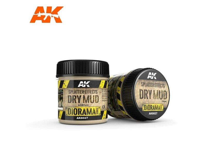 AK Interactive AK Interactive Splatter Effects Dry Mud - 100ml (Acrylic)
