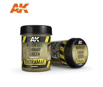 AK Interactive Water Gel Swamp Green Effects - 250ml (Acrylic)