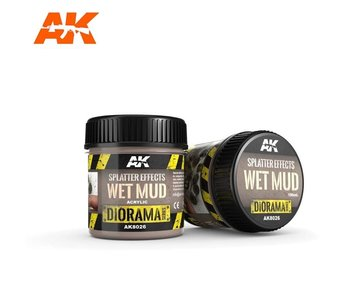AK Interactive Splatter Effects Wet Mud - 100ml - Base Product (Acrylic)