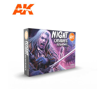 AK Interactive Night Creatures Flesh Tones
