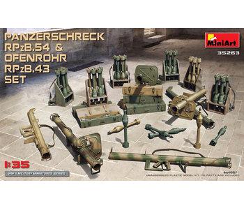 MiniArt Panzerschreck RPzB.54 & Ofenrohr RPzB.43 Set (1/35)
