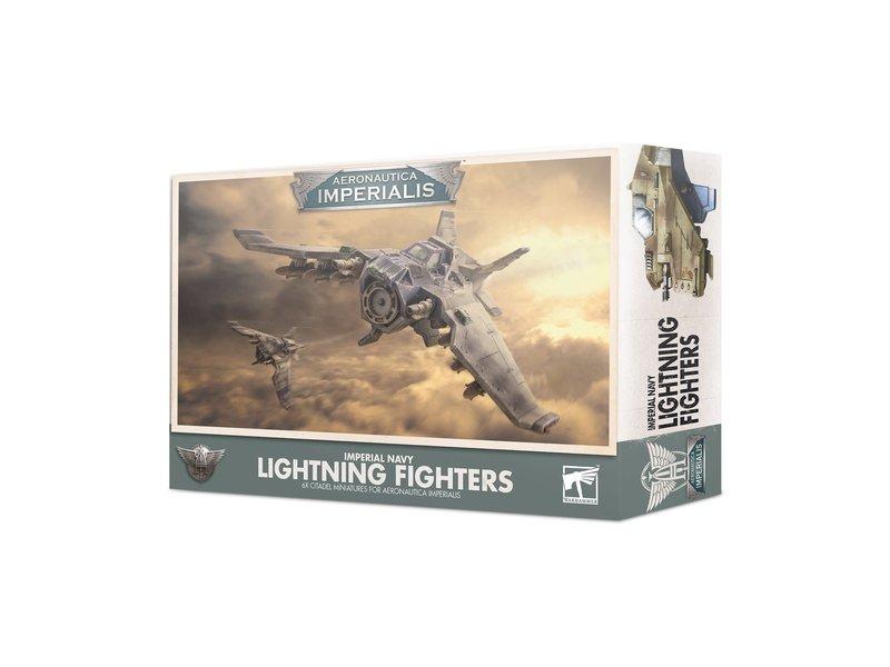 Games Workshop Aeronautica Imperialis - Imperial Navy Lightning Fighters
