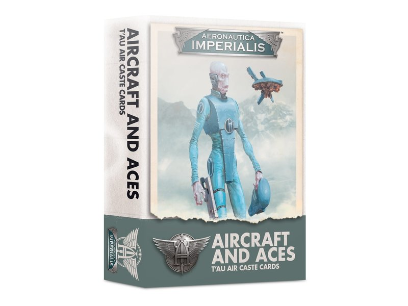 Games Workshop Aeronautica Imperialis - Aircraft & Aces Tau Air Caste Cards