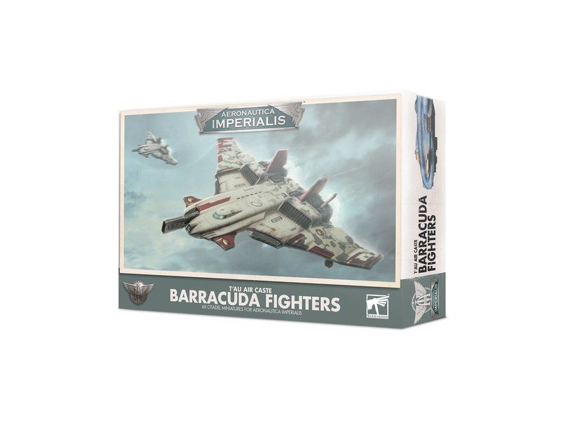 Games Workshop Aeronautica Imperialis - Tau Air Caste Barracuda Fighters