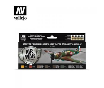 Model Air Armee de LAir 1939-42 Set 8 x 17ml