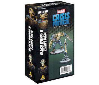 Marvel: Crisis Protocol - Black Dwarf & Ebony Maw Character Pack