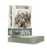 Games Workshop Aircraft And Aces - Ork air Waaagh! Cards