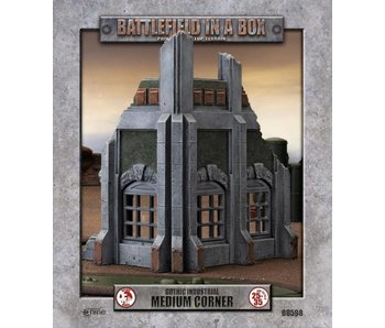 Battlefield in a Box: Gothic Industrial Medium Corner