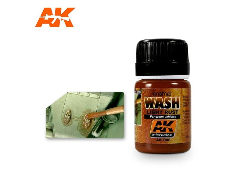 AK Interactive AK Interactive Light Rust Wash