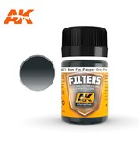 AK Interactive AK Interactive Filter Blue For Panzer Grey Vehicles