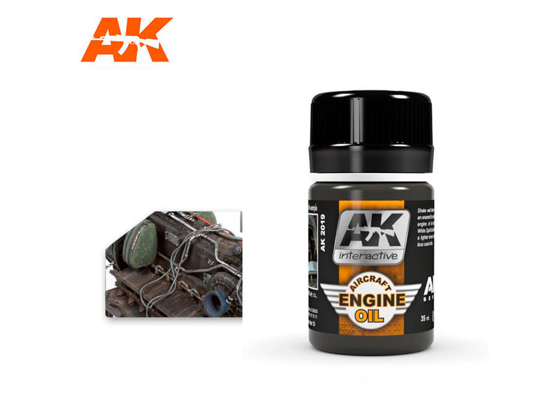 AK Interactive AK Interactive Aircraft Engine Oil