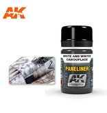 AK Interactive AK Interactive Paneliner For White And Winter Camouflage 35ml