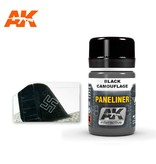 AK Interactive AK Interactive Paneliner For Black Camouflage 35ml