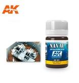 AK Interactive AK Interactive Dark Wash For Wood Decks