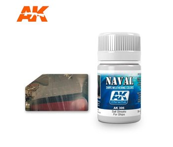 AK Interactive Salt Streaks For Ships