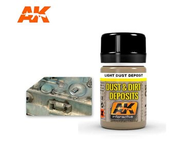 AK Interactive Light Dust Deposit