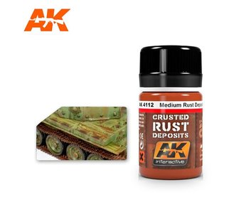 AK Interactive Medium Rust Deposit