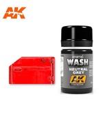 AK Interactive AK Interactive Neutral Grey For White/Black Wash