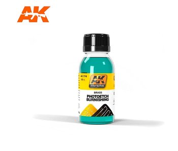 AK Interactive Brush Photoetche Burnishing