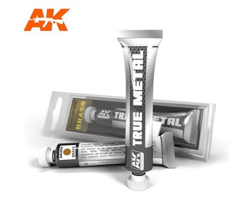 AK Interactive True Metal Brass