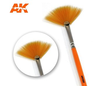 AK Interactive Weathering Brush Fan Shape