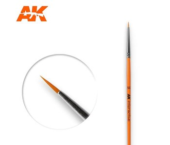 AK Interactive Round Brush 5/0 Synthetic