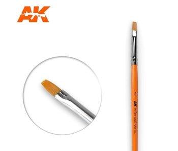 AK Interactive Flat Brush 2 Synthetic