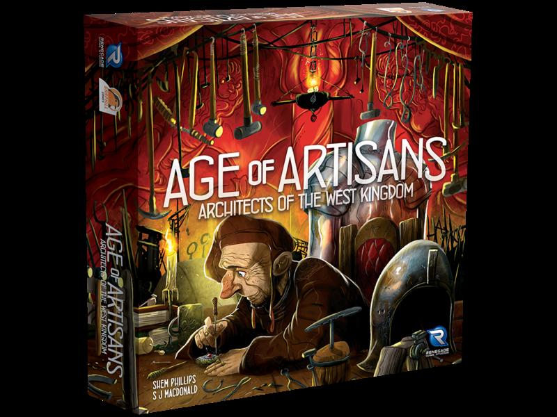 Architects of the West Kingdom - Age of Artisans (English)