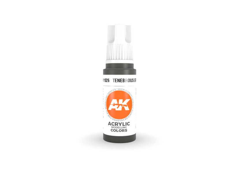 AK Interactive AK Interactive 3rd Gen Acrylic Tenebrous Grey (17ml)