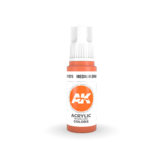 AK Interactive AK Interactive 3rd Gen Acrylic Medium Orange (17ml)