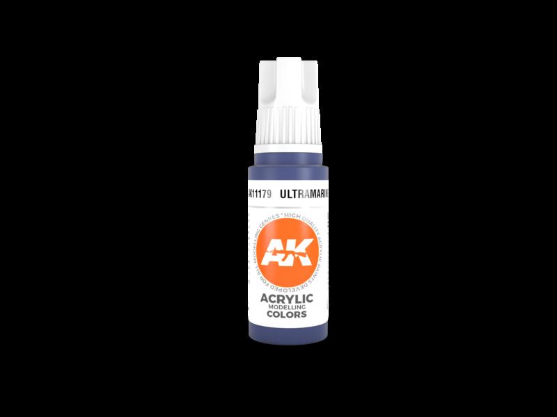 AK Interactive AK Interactive 3rd Gen Acrylic Ultramarine (17ml)