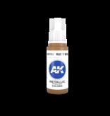 AK Interactive AK Interactive 3rd Gen Acrylic Rusty Brass (17ml)