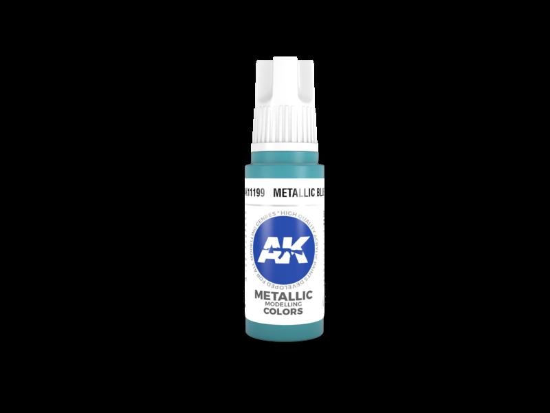 AK Interactive AK Interactive 3rd Gen Acrylic Metallic Blue (17ml)