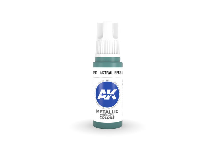 AK Interactive AK Interactive 3rd Gen Acrylic Astral Beryllium (17ml)